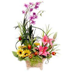 213 best silk flower arrangements images on pinterest in 2018 flower arranging styles artificial flowers arrangement silk flower delivery mightylinksfo