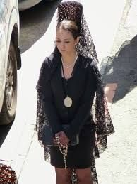 Comprar vestido negro para mantilla semana santa