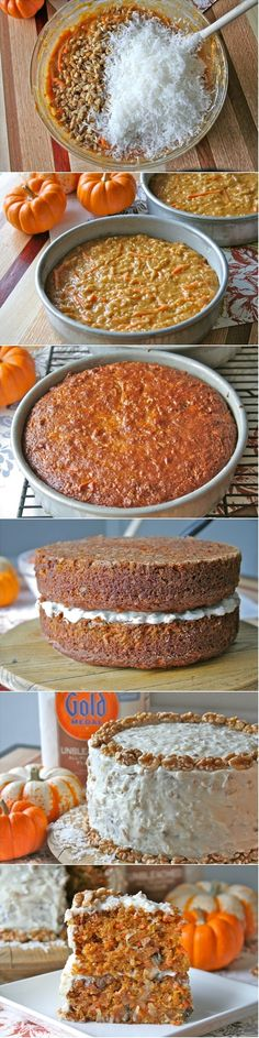 Pumpkin Carrot Cake