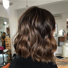 "Lisa Roe on Instagram: ""Glossy chocolate hair 😍 is there anything better? 🍫 colour created using @lovekmireland"""