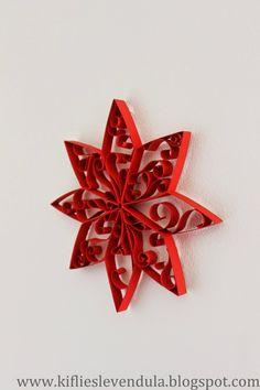 Kifli és levendula: Karácsonyi csillag tejesdobozból