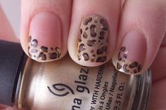 Love these cheetah nails too!  I wish my nail gal could do it!  She got too frustrated and impatient last week.  : (
