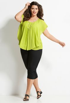 Stylish Plus-Size Fashion Ideas – Designer Fashion Tips Plus Zise, Mode Plus, Curvy Fashion, Girl Fashion, Fashion Outfits, Plus Fashion, Look Plus Size, Plus Size Casual, Plus Size Fashion For Women