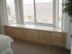 Bay Window Seats With Storage | Window Seat (floor, Lowes, color, furniture) - remodeling, decorating ...