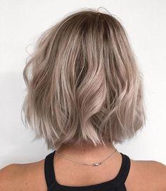 # Braids for short hair bridesmaid Hair length idea, Haircuts For Wavy Hair, Brown Blonde Hair, Blonde Honey, Ashy Blonde, Honey Hair, Grunge Hair, Dream Hair, Balayage Hair, Honey Balayage