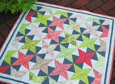 Kaliedoscope - I have this same design from the Antique Quilts magazine and have also really wanted to try it.