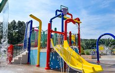 Family camping with a variety of amenities | Yogi Bear's Water Zone | Jellystone Park in Luray, VA