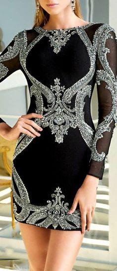1001+ unglaubliche Ideen und Inspirationen für festliche Damenmode.  Festliche DamenmodeSchwarzes Kleid ... ef5ecd008e