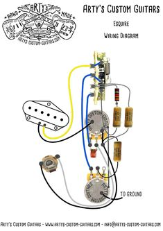 esquire tele wiring diagram www artys-custom-guitars com