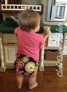 Daily Cute Fluffy Bum - Blueberry Basix - Cloth Diaper Addicts