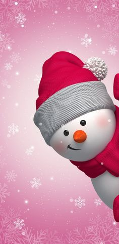 60 Simple Yet Cute Christmas Wallpaper You Must Have This Year - Page 33 of 60 - Chic Hostess Snowman Wallpaper, Christmas Phone Wallpaper, Holiday Wallpaper, Winter Wallpaper, Christmas Images Wallpaper, Cute Wallpapers, Wallpaper Backgrounds, Iphone Wallpaper, Tree Wallpaper