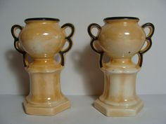 Super Cute Pair of Vintage Luster ware by NewOxfordVintage on Etsy