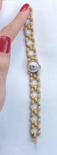 14K GOLD ROLEX WATCH - Gorgeous RARE CUSTOM Timepiece - | eBay