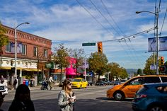 Kitsilano, on the west side of the City of Vancouver, is known for its young population, its shopping and restaurants and its famous beach Vancouver Neighborhoods, Famous Beaches, The Neighbourhood, Street View, City, The Neighborhood, Cities