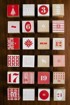 DIY: Printable Advent Calendar