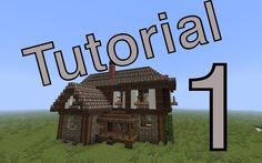 minecraft tutorial [Mittelalter Haus] #1 (deutsch)