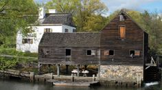 """The serenity and sounds of 1750:  Philipsburg Manor in Sleepy Hollow, NY was """"a thriving farming, milling, and trading center"""" built by Anglo-Dutch merchants. It's also an idyllic and fascinating step back into time - a place where you can experience """"ancient"""" American life."""