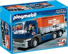 Cargo Truck with Container 5255