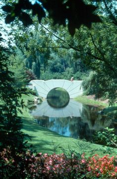 alden b dow | Tumblr  sun bridge round. dow gardens midland michigan japan style