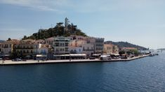 POROS VIEW FROM FERRY BOAT