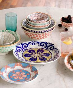 Colourful, quirky kitchen and tableware