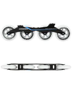 Powerslide X 6061 Complete Frame and Wheel Assembly Inline Speed Skates, High Roller, Inline Skating, Belt, Frame, Accessories, Clocks, Belts, Picture Frame