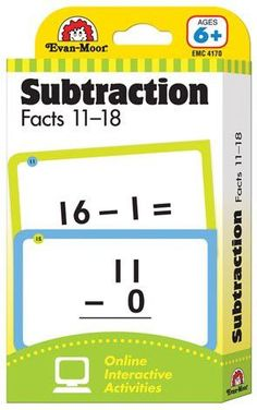 Flashcards/Subtraction Facts 11-18