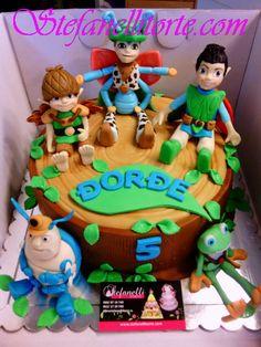 Tree fu Tom cake and friends