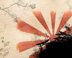 JAPANESE ART | Samurai+Japanese+Wall+Art+and+Cherry+Blossom+Art+Wallpaper-japan.jpg ...