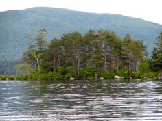 Squam Lake in Holderness, NH