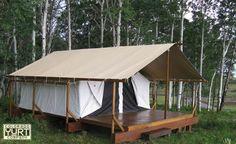 Tent in Colorado