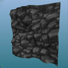 Cliff wall texture. | Hand Painted Textures