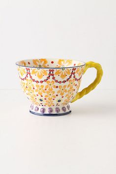 With A Twist Teacup #anthropologie (Orange)