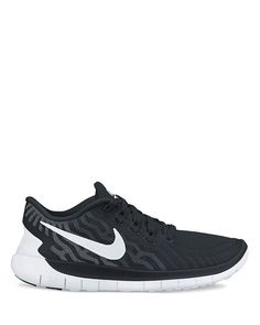Nike Lace Up Sneakers - Women's Free 5.0