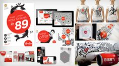 AirAsia Brand Identity - The Partners