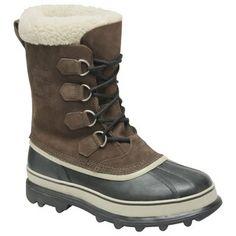 Those look cosy! Caribou Boot (Men's) #Sorel at RockCreek.com