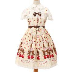 http://www.wunderwelt.jp/products/detail3544.html ☆ ·.. · ° ☆ ·.. · ° ☆ ·.. · ° ☆ ·.. · ° ☆ ·.. · ° ☆ Cherish my juicy cherry pattern candy dress BABY THE STARS SHINE BRIGHT ☆ ·.. · ° ☆ How to order ☆ ·.. · ° ☆  http://www.wunderwelt.jp/blog/5022 ☆ ·.. · ☆ Japanese Vintage Lolita clothing shop Wunderwelt ☆ ·.. · ☆ # egl