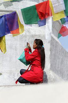 Visiting Bodnath, Nepal Nepal, Around The Worlds