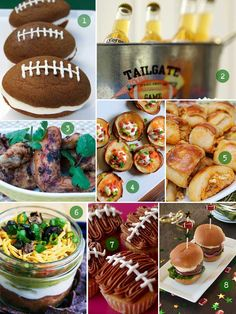 Superbowl party ideas and recipes