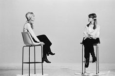 "xwg:  ""  Sylvie Vartan and Francoise Hardy photographed by James Andanson, 1968  """