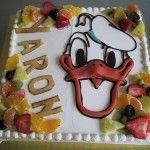 Donald duck taart van Bakkerij Excellence http://www.excellence.be