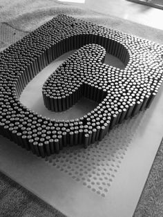 23 Clever DIY Christmas Decoration Ideas By Crafty Panda Retail Signage, Wayfinding Signage, Signage Design, 3d Cnc, Diy Fence, Typography, Lettering, Environmental Graphics, House Numbers