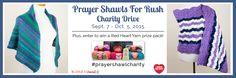 Prayer Shawls for Rush Charity Drive - #prayershawlcharity