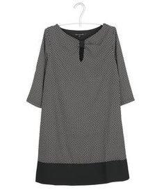 Robe imprimée 795-UNIQUE-GRIS by LA FEE MARABOUTEE