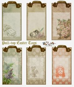 PIN COUNT   This year Easter is April 5, 2015.   These cute tags are kicking off my Easter 2015 designs !   I've done them for you in tw...