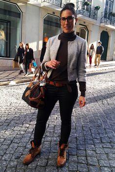 Portuguese Street Fashion   ... street style portugal photo street style portugal photo street style