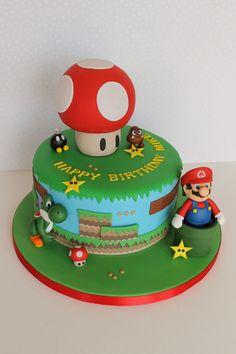 Super Mario & Yoshi Cake