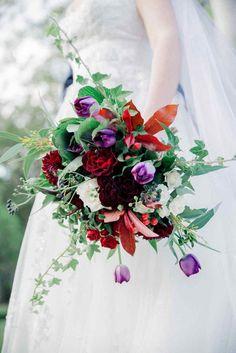 Bright Winter Romance Wedding Ideas - Wedding flowers by Keren