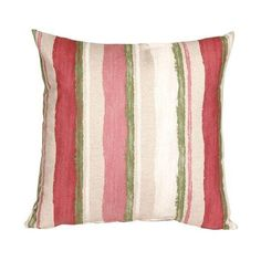 Pillow Decor - Albany Stripes 20x20 Throw Pillow ($55) ❤ liked on Polyvore featuring home, home decor, throw pillows, stripe throw pillows, striped accent pillows, striped throw pillows and pillow decor