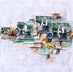 Elena Morgun: Lindy's Stamp Gang - LO+video tutorial